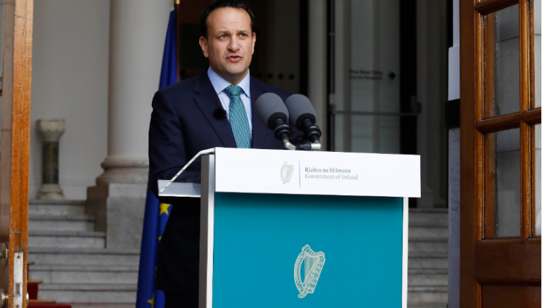 Auxílio Emergencial será estendido por meses, diz primeiro ministro irlandês