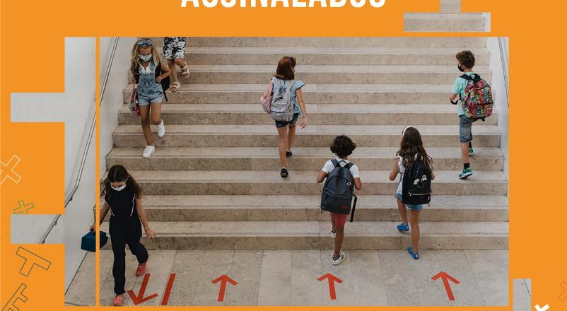 Máscara e distanciamento: aulas retornam presencialmente em Portugal