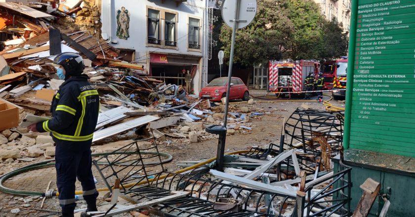 Encontrado corpo de jovem desaparecido após desabamento em Lisboa
