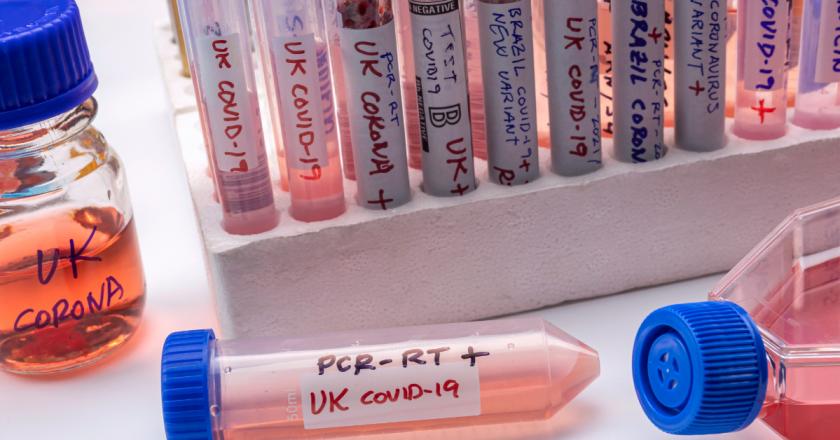 Variante britânica já representa 50% dos novos casos de Covid-19 na França
