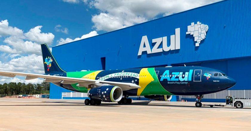 Azul confirma voo especial entre Brasil e Portugal para o final do mês
