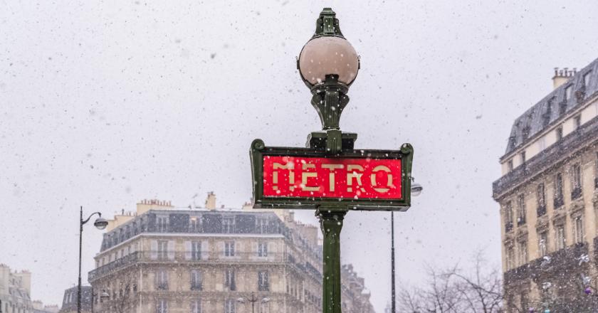 Após recorde de calor na primavera, Paris prevê neve na próxima semana