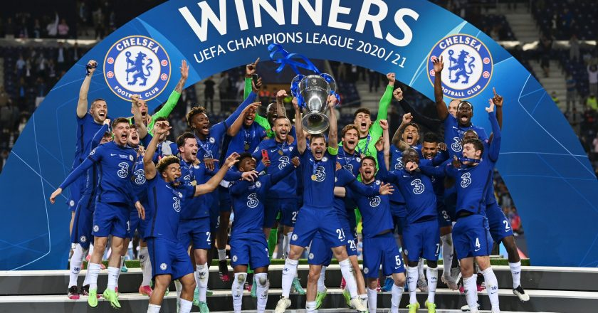 Em final inglesa, Chelsea conquista bicampeonato da Liga dos Campeões