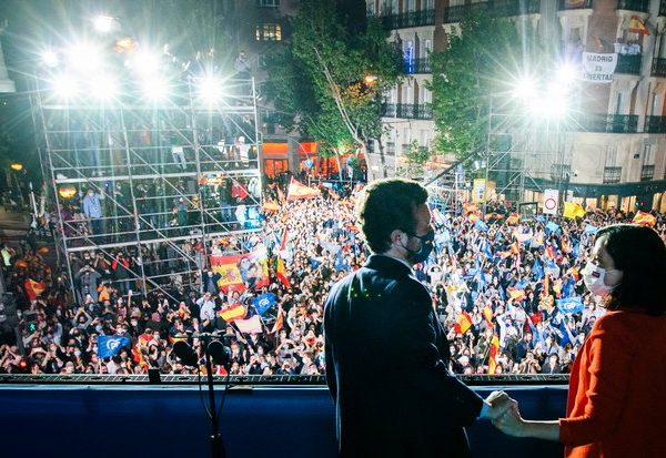 Direita vence eleições em Madri com maioria dos votos