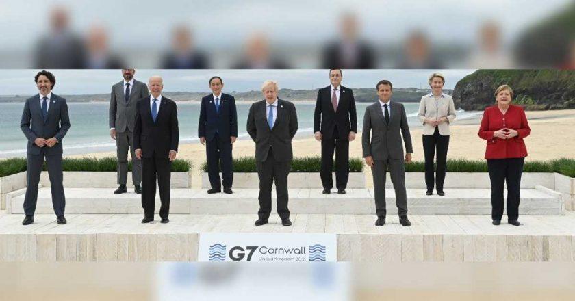 G7: líderes mundiais prometem doar um bilhão de vacinas a países pobres