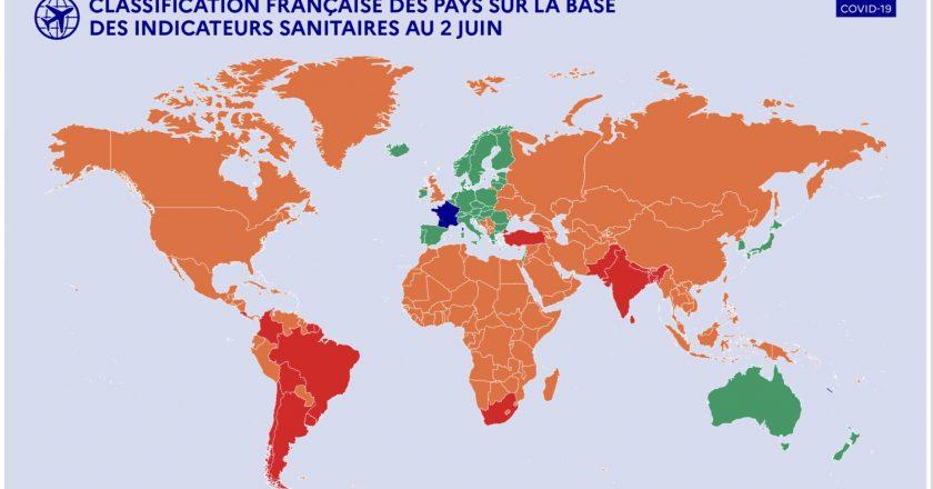 França reabre turismo para vacinados, mas coloca Brasil em lista vermelha