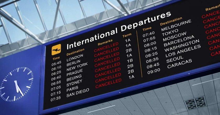 Greve em aeroportos de Portugal gera cancelamento em centenas de voos