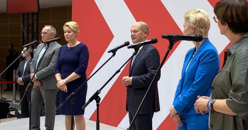 Eleições: sociais-democratas vencem partido de Merkel na Alemanha