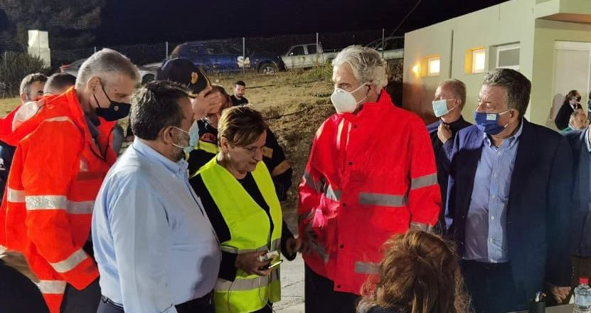 Terremoto provoca morte, e Creta declara estado de emergência
